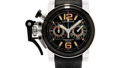 İkinci El Saat Alan Yerler Graham Chronofighter Overzise Night Ranger